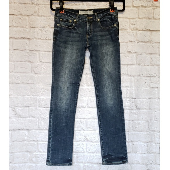 Abercrombie & Fitch Denim - Abercrombie & Fitch Perfect Stretch Straight Jeans